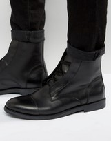 Zign Leather Lace Up Boots