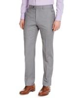 Michael Kors Men's Classic-Fit Airsoft Stretch Gray Sharkskin Suit Pants