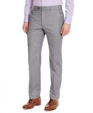 Michael Kors Men's Classic-Fit Airsoft Stretch Suit Pants