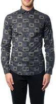 Armani Jeans Printed Cotton Shirt