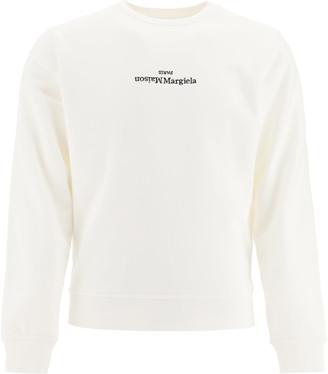 Maison Margiela Sweatshirt With Logo Embroidery