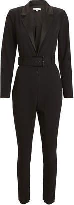 Weworewhat Tuxedo Blazer Jumpsuit