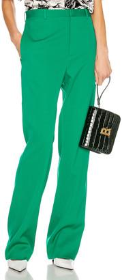 Balenciaga Tailored Pant in Emerald Green | FWRD