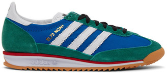 Noah NYC Blue and Green adidas Originals Edition SL 72 Sneakers
