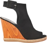 Tory Burch Suede wedge