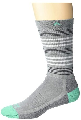 Wigwam Ice Age Trail (Grey) Crew Cut Socks Shoes