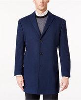 Ryan Seacrest Distinction Men's Royal Blue Overcoat, Only at Macy's