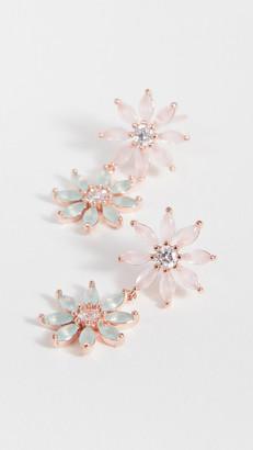 Theia Maya Two Tier Petal Drop Earrings