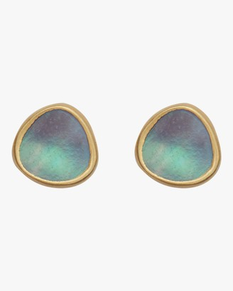 Pippa Small Mother of Pearl Stud Earrings