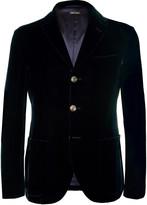 Giorgio Armani - Tokyo Slim-fit Velvet Blazer