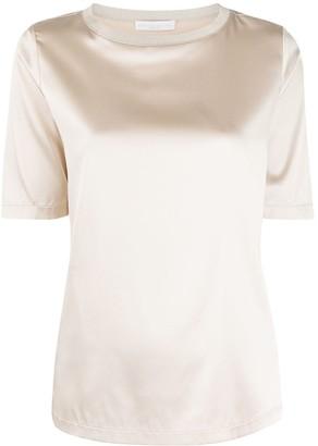 Fabiana Filippi short-sleeved silk T-shirt