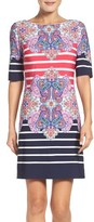 Eliza J Petite Women's Shift Dress