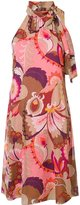 Trina Turk halter-neck printed dress - women - Silk/Polyester/Spandex/Elastane - 8