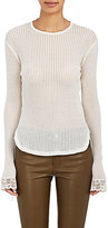 Helmut Lang Women's Cotton Mixed-Stitch Shirt