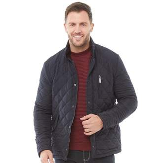 Feraud Mens Quilted Jacket Navy