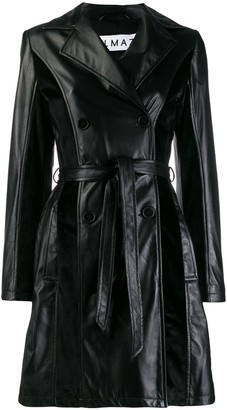 Almaz Leather Trench Coat