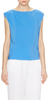 Alice + Olivia Lincoln Boxy Muscle Top
