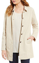 Eileen Fisher Classic Collar Long Jacket