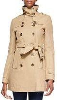 Burberry Funnel-Collar Trench Coat