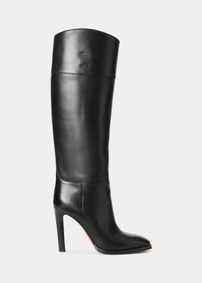 Ralph Lauren Renley Calfskin Boot