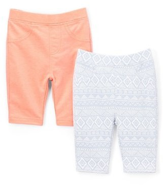 Freestyle Revolution Toddler Girls French Terry Bermuda Shorts, 2-Pack