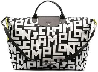 Longchamp large Le Pliage Collection travel bag