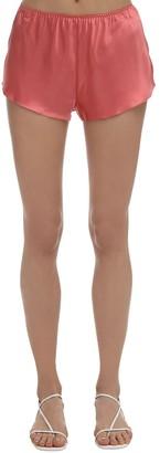 Luna Di Seta Silk Shorts