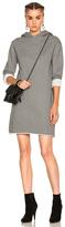 RtA Celine Sweatshirt Dress in Gray.