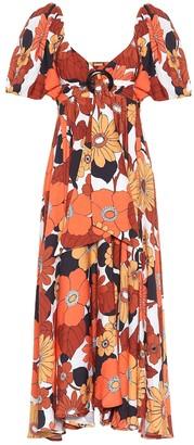 Dodo Bar Or Floral midi dress