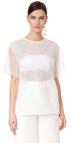 Diane von Furstenberg Shirt with Twig Lace