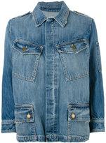 Current/Elliott The Update denim jacket - women - Cotton/Lyocell - 1