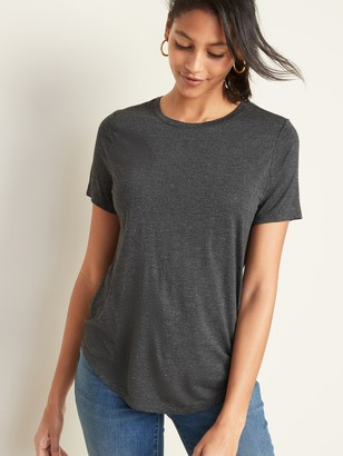 Old Navy Luxe Sparkle-Knit Tee for Women