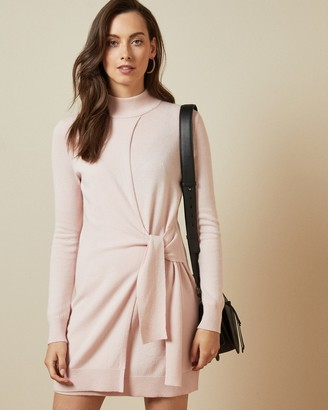 Ted Baker AMRITA Tie detail knitted dress