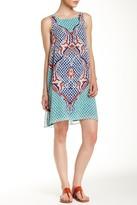 Max Studio Sleeveless A-Line Scarf Dress