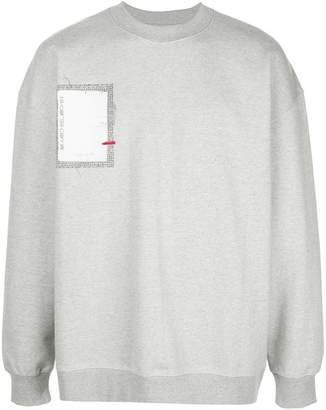 Corso Como Ader Error x 10 logo sweatshirt