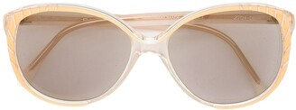 Balenciaga Pre Owned Cat-Eye Frame Sunglasses
