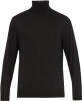 Paul Smith Stripe-detail roll-neck wool sweater
