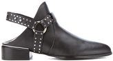Senso Women's Danx I Leather Heeled Ankle Boots Ebony