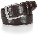 Daniel Cremieux Alligator Embossed Leather Belt