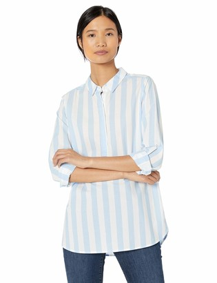 Goodthreads Amazon Brand Women's Lightweight Cotton Popover Tunic