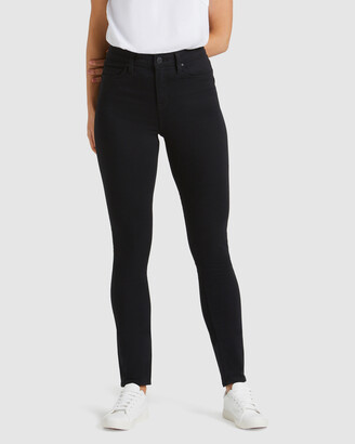Jeanswest Women's Black Skinny - Butt Lifter Skinny Jeans Black Night - Size One Size, 6 Regular at The Iconic