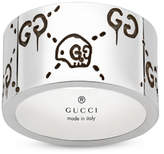 GucciGhost 12mm Ring in Silver - Ring Size O/P