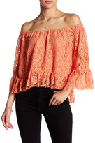 Do & Be Do + Be Lace Off-The-Shoulder Blouse