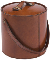 Houseology Life Of Riley Leather Ice Bucket