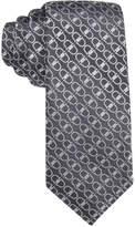 Alfani Men's Buckle Geo Slim Tie, Only at Macy's