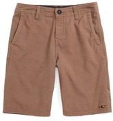 O'Neill Boy's Locked Overdye Hybrid Shorts