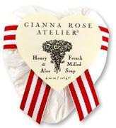 Heart Soap in Red Toile
