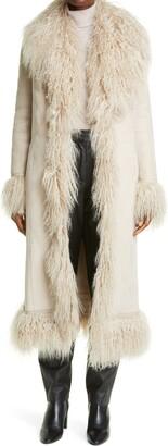 Saks Potts Bonnie Genuine Shearling Coat
