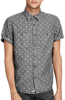 Denim & Supply Ralph Lauren Star Cotton Chambray Shirt, Vault Star