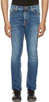 Nudie Jeans Blue Lean Dean Jeans
